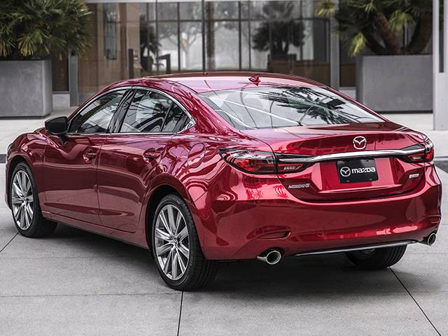 2022 Mazda 6 rear