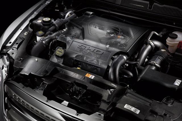 2022 Ford Taurus engine