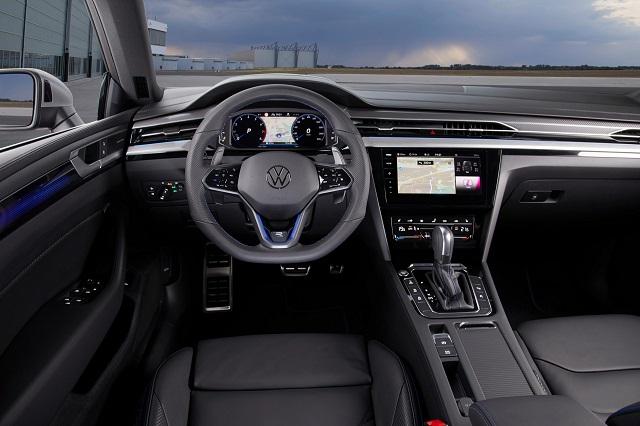 2022 VW Scirocco interior