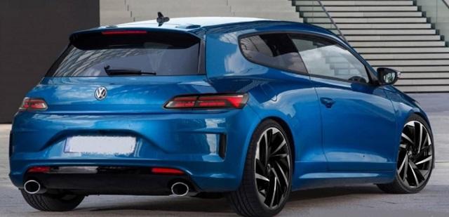 2022 VW Scirocco rear
