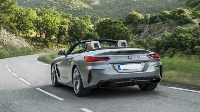 2022 BMW Z4 rear