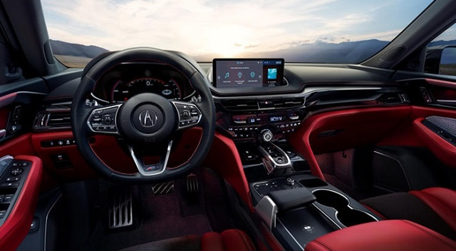 2023 Acura MDX interior