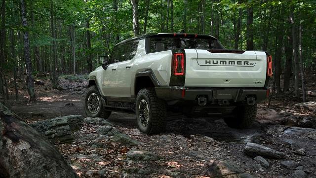2023 GMC Hummer EV rear