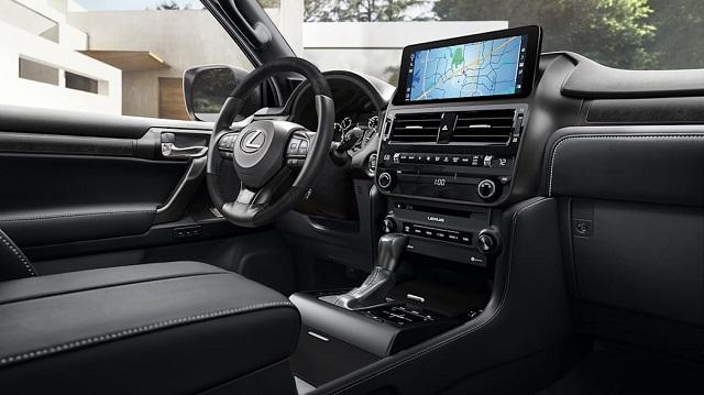 2023 Lexus GX460 interior