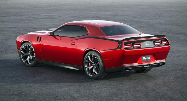 2023 Dodge Barracuda rear
