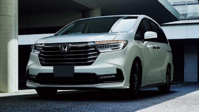 2023 Honda Odyssey front