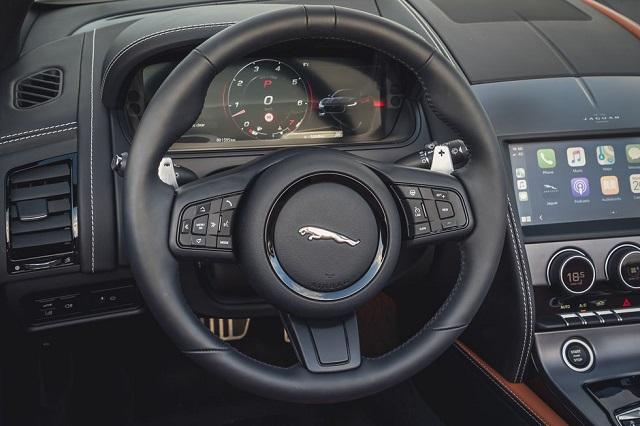 2023 Jaguar F-Type interior