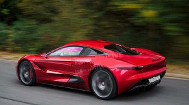 2023 Jaguar F-Type rear look