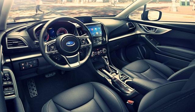 2023 Subaru Impreza interior