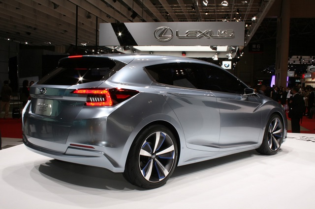 2023 Subaru Impreza rear