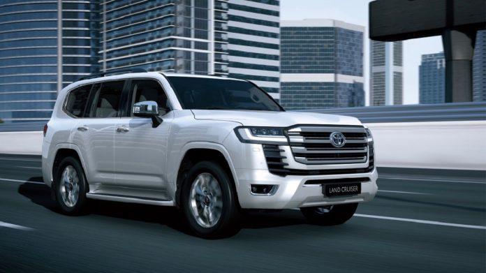 2023 Toyota Land Cruiser front