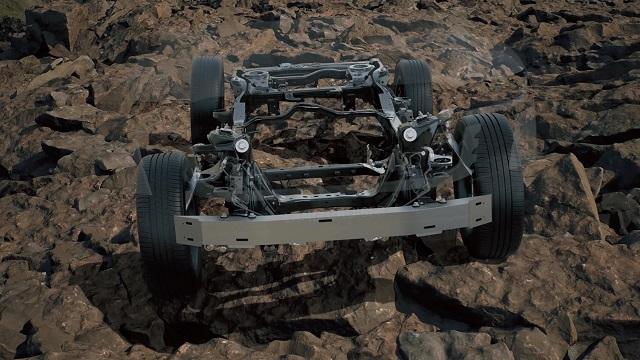 2023 Toyota Land Cruiser platform