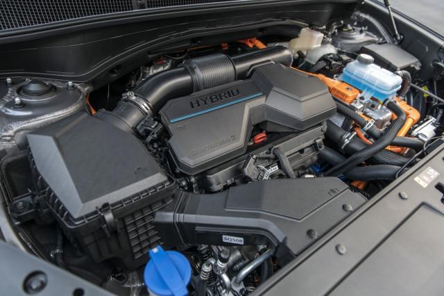 2023 Hyundai Santa Fe Hybrid system