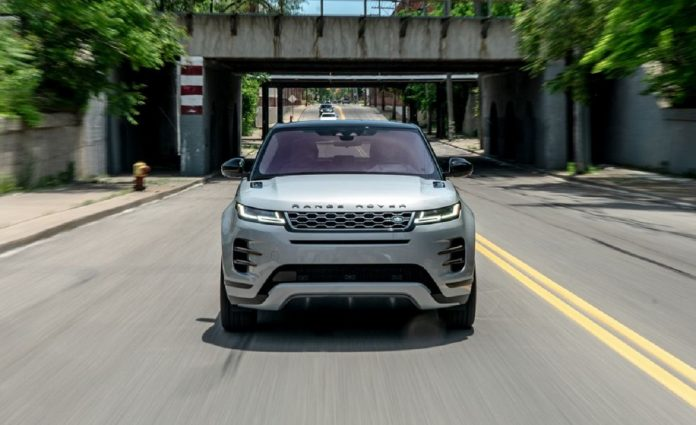 2023 Land Rover Range Rover Evoque front