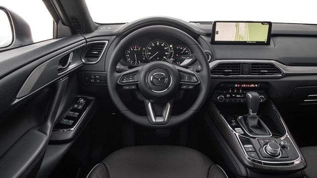 2023 Mazda CX-70 cabin